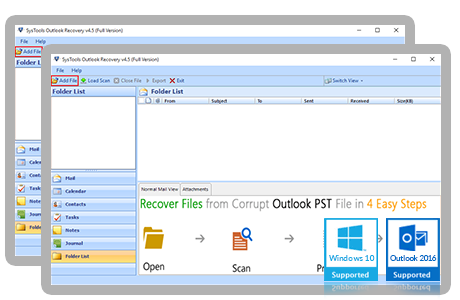 Outlook Recovery Banner